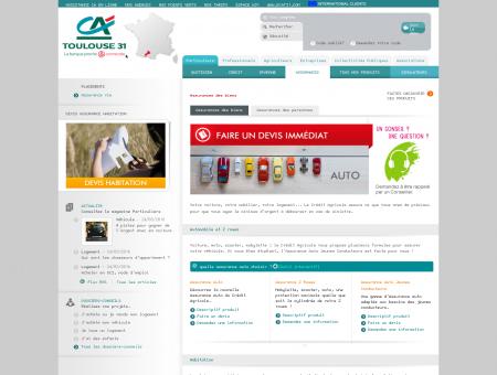 Crédit Agricole Toulouse 31 - Assurance des...