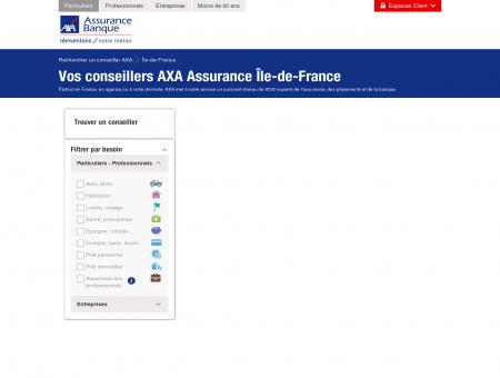 Assurance Île-de-France - AXA - Rechercher...