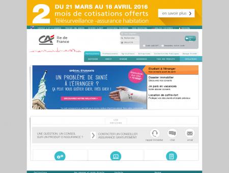 Crédit Agricole d'Ile de France - Espace dédié...