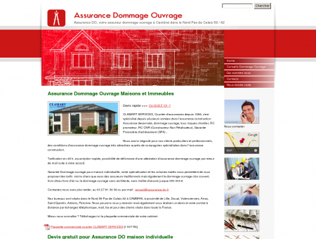 Assurance Dommage Ouvrage, Cambrai,...
