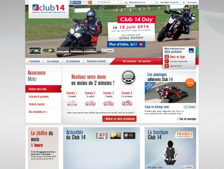 Le spécialiste de l'assurance moto   Club 14