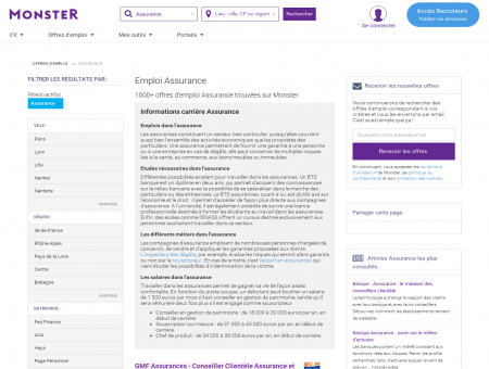 Emploi Assurance | Job et Recrutement dans...