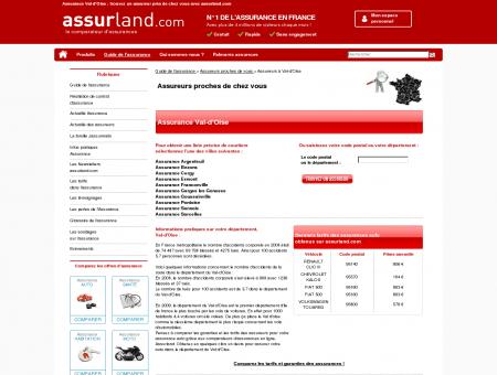 Assurance VAL-D'OISE : trouvez un assureur...