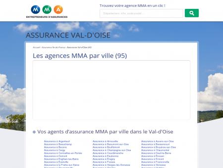 Assurance Val-d'Oise (95)  trouvez un agent...