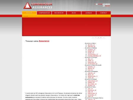 Comparateur assurance : l'adresse des agences...