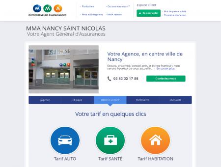 Assurances MMA - NANCY SAINT NICOLAS -...