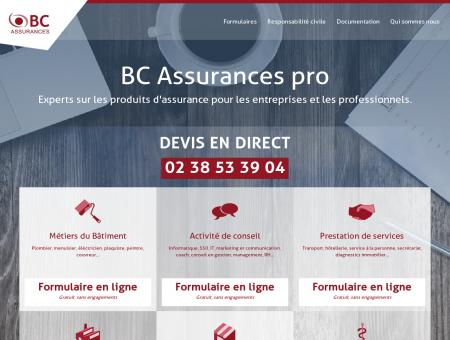 BC Assurances Pro - Accueil