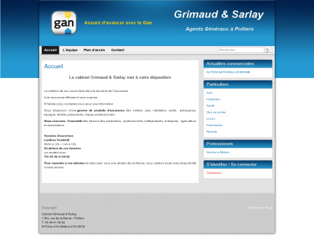 Assurance Gan Poitiers