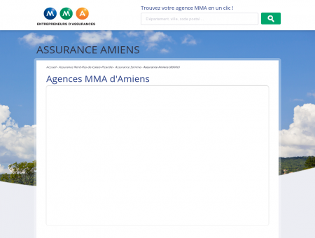 Assurance Amiens  trouvez votre agence...