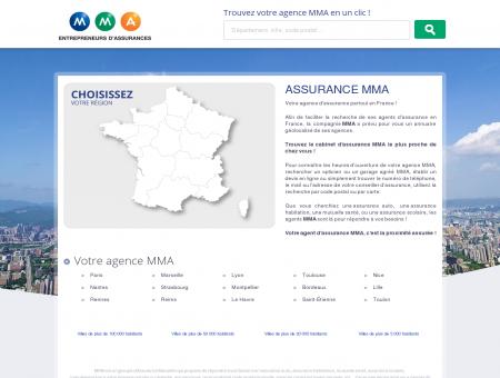 Assurance France  trouvez votre agence MMA