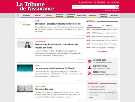 La Tribune de l'assurance - Actualités en ligne...