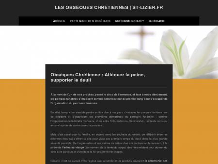 Les obsèques chrétiennes | St-lizier.fr