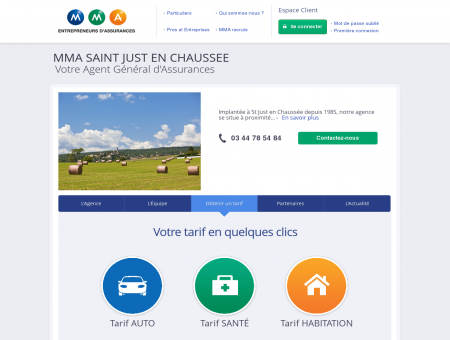 Agence SAINT JUST EN CHAUSSEE -...