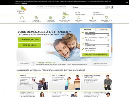 APRIL International: Assurance santé expatrié ...