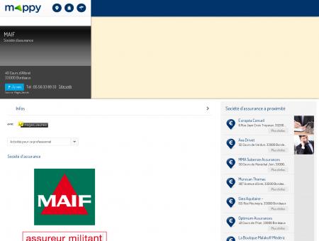 MAIF - Société d'assurance, 40 Cours d'Albret...