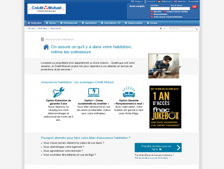 Assurance Habitation - Crédit Mutuel