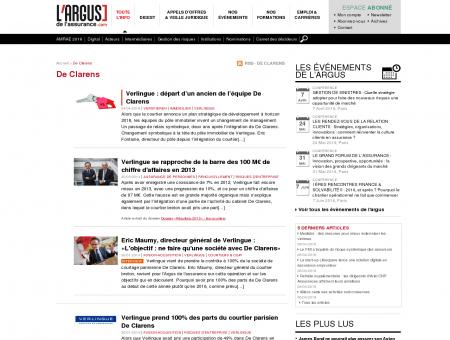 De Clarens : News de la compagnie de...