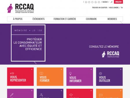 RCCAQ - Accueil