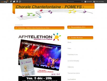5 décembre : Téléthon à Saint Symphorien sur...