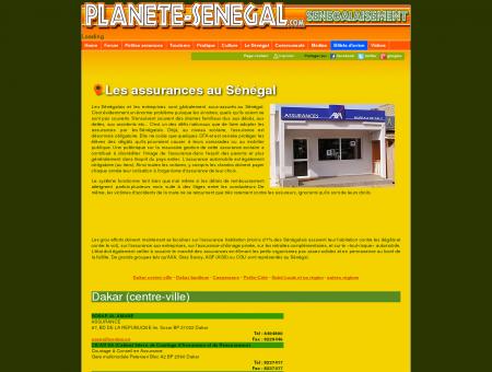 Assureurs et cabinets d'assurance au Sénégal
