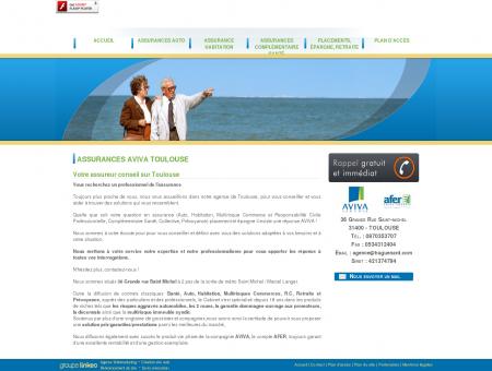 Mutuelle santé Toulouse - AVIVA HUGUENARD...