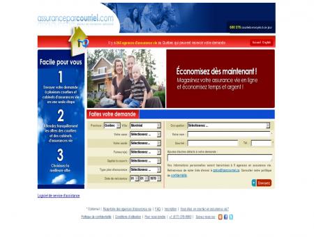 Agences en assurance vie, demande en ligne...