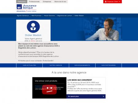 Agence Assurance Bagnères-de-Luchon...