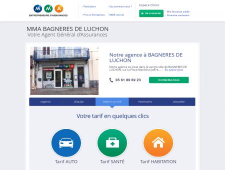 Assurances MMA - BAGNERES DE LUCHON -...