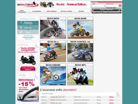 Assurbike - Assurance moto, scooter, quad, 50cc