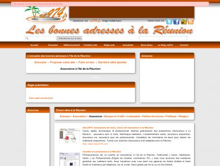 Assurance Réunion 974 - re974.fr - les bonnes...