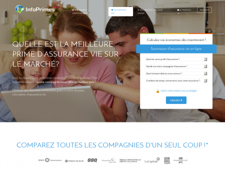Assurance Vie | InfoPrimes - Comparez 15...