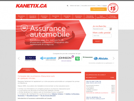 Assurance auto : Soumissions d'assurance...