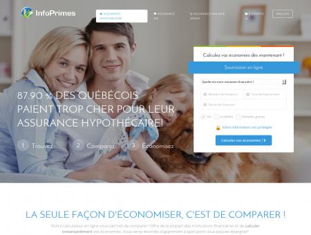 InfoPrimes   Assurance Vie et Hypothécaire -...