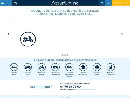 Assurance AssurOnline : assurance auto moto...