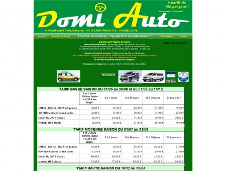 Domi Auto, Location voitures et utilitaires à St ...