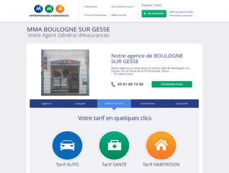 Agence BOULOGNE SUR GESSE - Assurance...