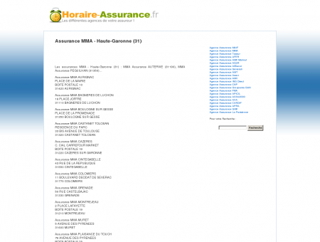 Assurance MMA - Haute-Garonne (31) -...