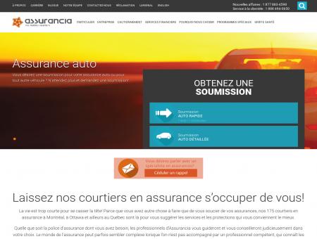 Assurancia | Courtier en assurance au Québec