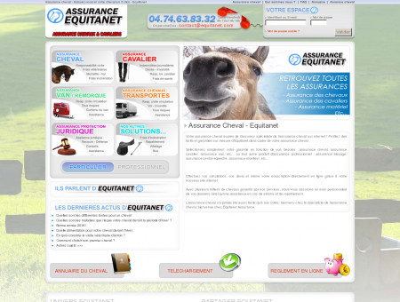 Assurance Cheval - Equitanet