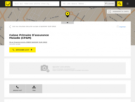 Caisse Primaire D'assurance Maladie Savigny...