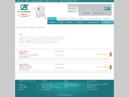 Banque et Assurance VERNOUILLET - Crédit...
