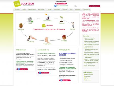 CG Courtage, assurance, crédit, patrimoine.