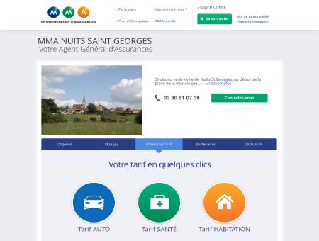 Agence NUITS SAINT GEORGES - Assurance...