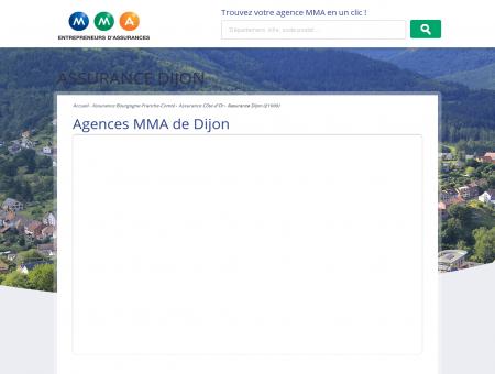 Assurance Dijon  trouvez votre agence MMA...