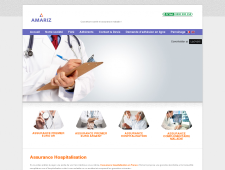 Assurance hospitalisation | Amariz France
