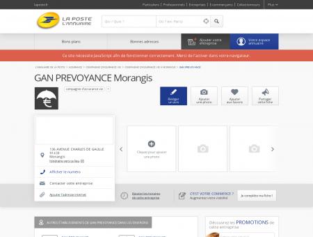 GAN PREVOYANCE - Compagnie d'assurance...