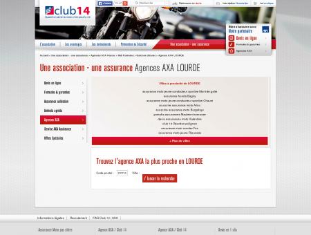 Agences AXA MONTGISCARD | Club 14