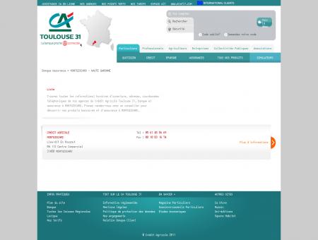 Banque et Assurance MONTGISCARD - Crédit...