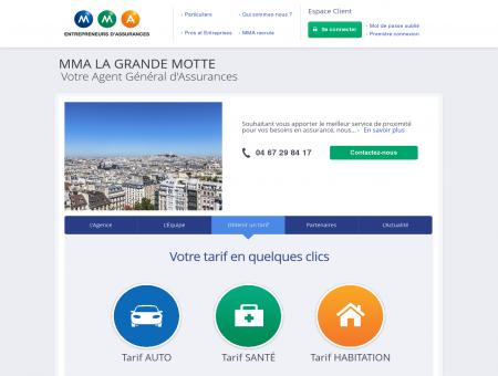 Agence LA GRANDE MOTTE - Assurance...