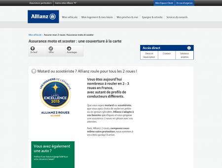 Assurance Moto - Allianz | Allianz.fr